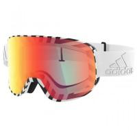 adidas eyewear - Progressor C S3 (VLT 17%) - Skibrille grau/orange/rot;rosa/orange White Matt