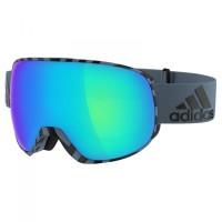 adidas eyewear - Progressor S3 (VLT 13%) - Skibrille Gr S türkis/blau;grün/schwarz Raw Steel