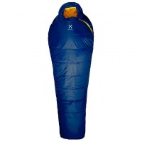 Haglöfs - Tarius +6 - Kunstfaserschlafsack Gr 190 cm blau Hurricane Blue