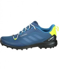 Adidas Schuhe Terrex Fastshell CP - blue night/white/semi solar yellow