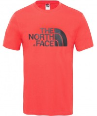 The North Face Easy Tee Shirt Men - Freizeitshirt - salsa red - Gr.S