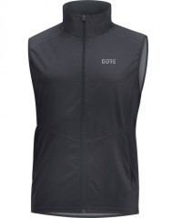 Gore Wear R3 Gore Windstopper Weste Men - Winddichte Sportweste - grau - Gr.XL