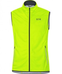 Gore Wear R5 Gore Windstopper Weste Men - Windstopper Laufweste - gelb - Gr.XL