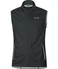Gore Wear R5 Gore Windstopper Weste Men - Windstopper Laufweste - schwarz - Gr.L
