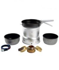 Trangia 27-5 UL Ultralight - Alu Sturmkocher mit beschichteten Töpfen und Pfanne - Kocher Set - 27-5