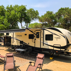 Camping on the Kern Vacation Trailers