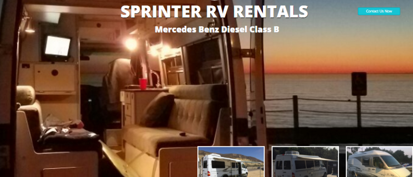 Southern California RV Sprinter Rental Reviews Rentals
