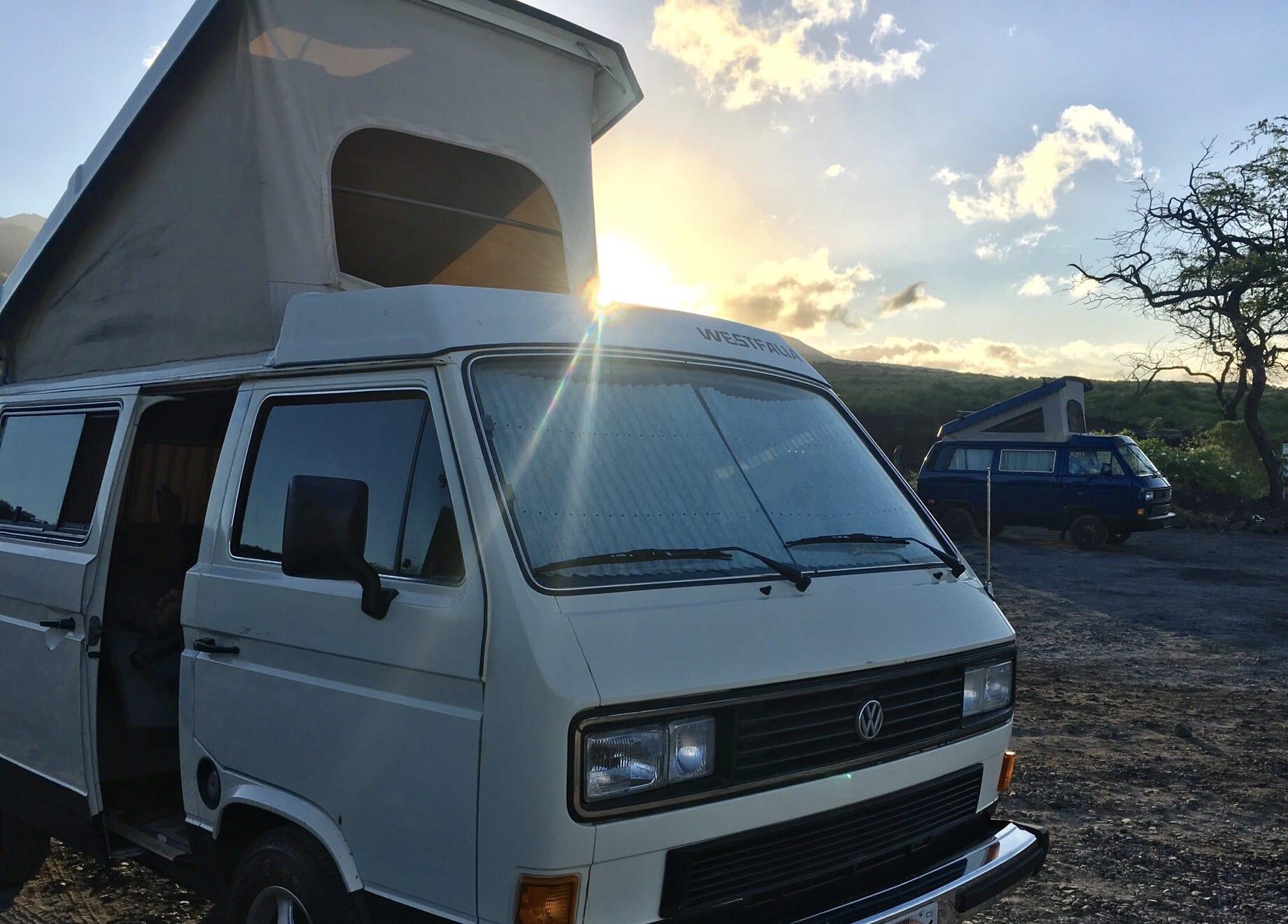 0cc12229fa Maui Westy Campers Reviews   RV Rentals