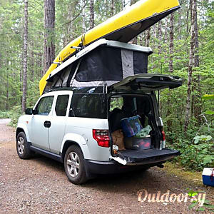 02011 Honda Element eCamper by Ursa Minor  Seattle, WA
