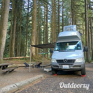 0Meet Walter Westy: 2005 Mercedes Sprinter Westfalia  Seattle, WA
