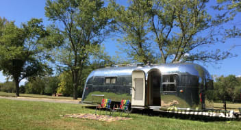 "1957 Airstream Overlander: ""Dimples"""