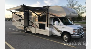 2017 Thor Motor Coach, 30' Freedom Elite, Bunkhouse