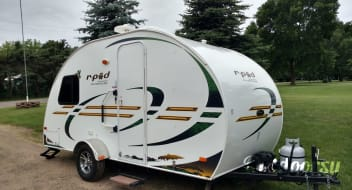 Rpod 172. Small camper with big features!
