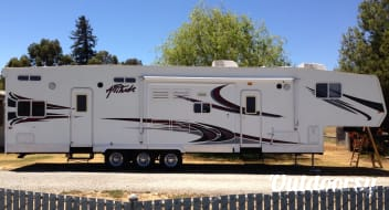 2008 Eclipse Attitude Toy hauler Delivered only