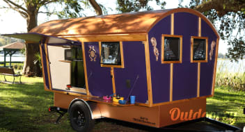 The Purple Gypsy Wagon
