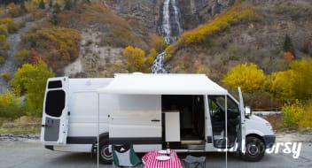 Custom Extended High Roof Sprinter! -- Jaunt Vans