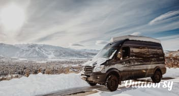 2019 Telluride Bluegrass 4 Day Passes and Camping Package (June 20 - 23rd): 'Blue' the Sprinter Van (2016 Mercedes Benz 4x4)