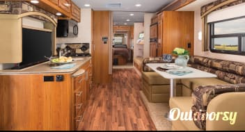 2016 Jayco Precept Fully Stocked and Ready for the road