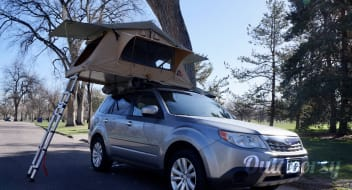 Colorado Car Camping: Silver Fox Forester & 3 Person Tepui Tent