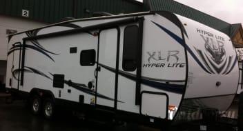 2014 Forest River Hyper lite XLR