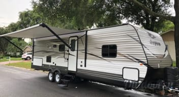 Free setup at Disney Fort Wilderness 2018 Jayco Jay Flight