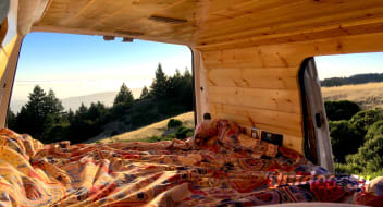 Cozy Ford Transit Connect Camper