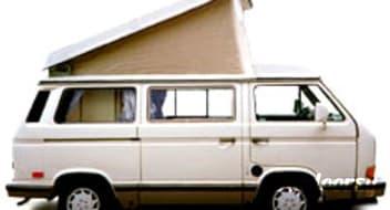 Classic White Genuine 1989 Volkswagen Westfalia with Audi Alloy Wheels