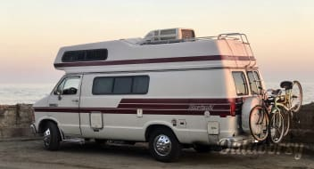 19' Solar Dodge Van WiFi Sleeps 4 Compact RV Camper (Bianca) Drives like an SUV and Park Anywhere! New Engine, Trans, Tires, Brakes, A/C, Battery and More!