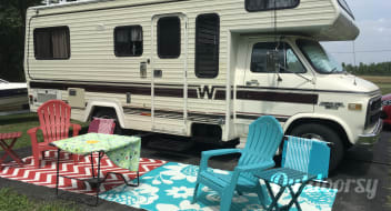 1984 Winnebago On site overnight camping only.