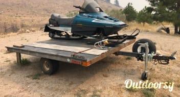 1983 Ranger Snowmobile trailer 8'
