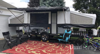 2018 Coachmen Clipper with Cargo (Toy Hauler)  Deck