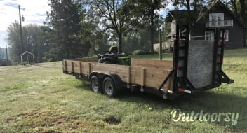 2018 custom built trailers 20ft car hauler