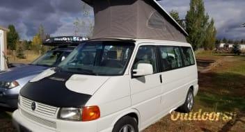Cloud Nine! - 2001 Volkswagen Weekender Poptop!