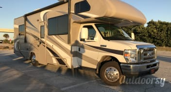 NEW Arrival! 2016 Family Size Motor Coach - Private Bedroom - TV/DVD Sleeps 8