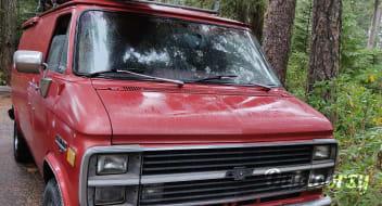 1984 Chevy Adventure Van
