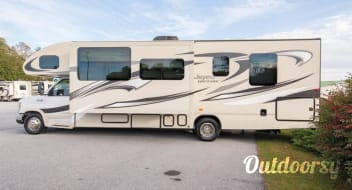 Life is a Journey in this spacious Jayco Greyhawk