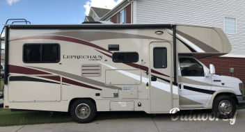 Porkchop - 2016 Leprechaun with Outdoor Entertainment Center and FULL Kitchen Included