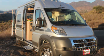 Off-grid Basecamps:  2018 Hymer Aktiv w/ Ecotrek and Solar