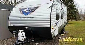 2017 Forest River Salem Cruise Lite 196BH, bunkhouse that sleeps up to 6