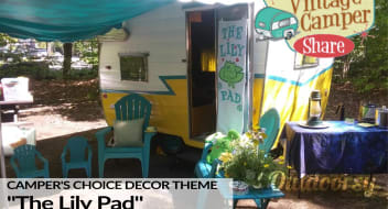 """1963 Vintage Shasta: """"Camper's Choice"""" (choose from multiple decor themes)"""