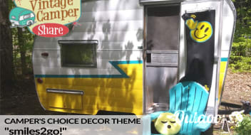 "1963 Vintage Shasta: ""Camper's Choice"" (choose from multiple decor themes)"