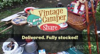 The S'Lumberjack Vintage Camper
