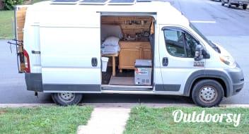 Custom Solar Powered Camper Van (2014 Ram Promaster 1500)