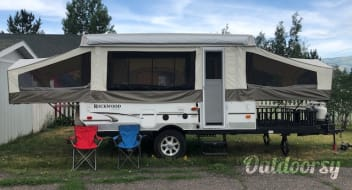 2011 Rockwood Freedom Pop Up Trailer