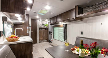 2020 Forest River Cherokee Grey Wolf 26RR Toy Hauler - Travel Trailer