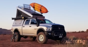 2017 Ram 2500 with AT Overland Summit