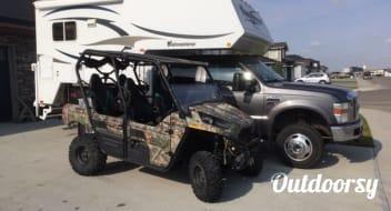 Truck Camper 2011 Adventurer 950B Sleeps 6 with SXS OHV tours Rocky Mountain Adventure Combo