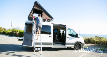 """Salty"" 2017 Ford Transit Campervan"