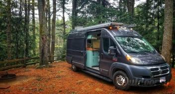 #Vanlife Custom Converted Camper Van - 2016 Dodge Promaster 3500 High Roof
