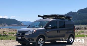 2017 Dodge ProMaster City Euro Camper